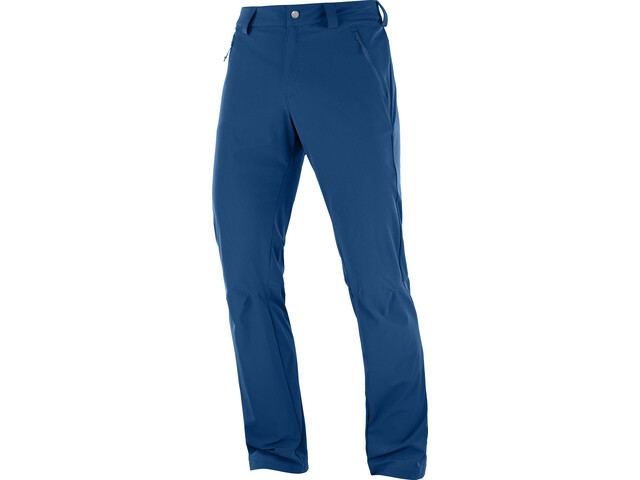 Salomon Wayfarer Straight LT Pantalones Hombre, poseidon